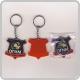 Материал: PVC / ПВХ Фурнитура: металлическое кольцо на цепочке для ключей.